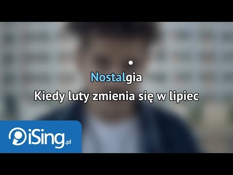 Taco Hemingway - Nostalgia (karaoke iSing)