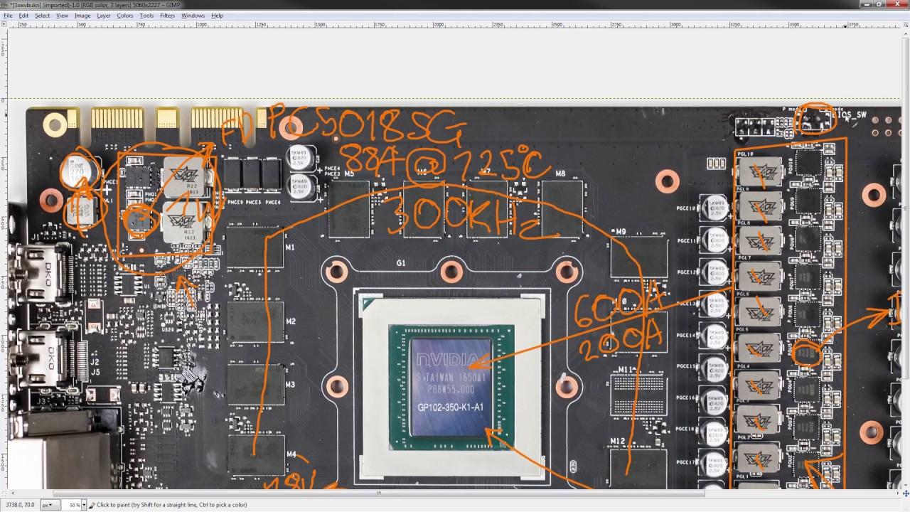 PCB Breakdown: ASUS GTX 1080 Ti STRIX