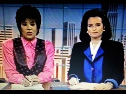 WCBS NY NEWS-September 20, 1993-Michele Marsh, Carol Martin