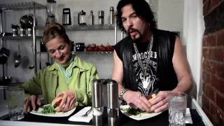 Healthy Meatless Burgers With Vegetarian Chef Vic
