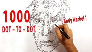 The 1000 DOT – TO – DOT book ( Andy Warhol )