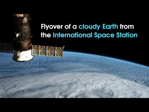 Time-lapse Earth Flyover from NASA Astronaut in Space