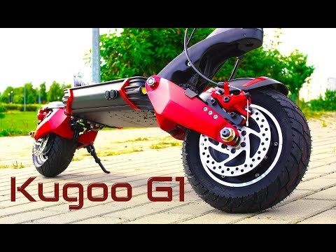 Самый быстрый Kugoo.Электросамокат Kugoo G1 New 2020. Распаковка обзор и замер скорости.
