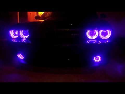 Dodge Challenger Plum Crazy Purple Srt8 Purple Halos