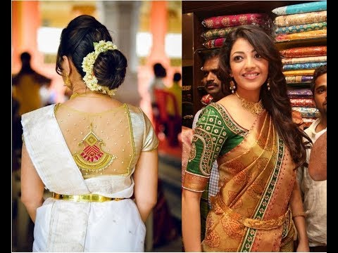 Latest Simple Hairstyles For Silk Saree Bride Wedding Trends Traditional Party