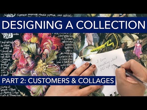 Watch Me Design A Fashion Collection 2: Customers and Collages