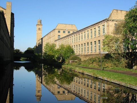 Places to see in ( Yorkshire - UK ) Saltaire Village
