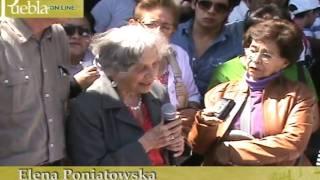 Elena Poniatowska habló del caso Carmen Aristegui
