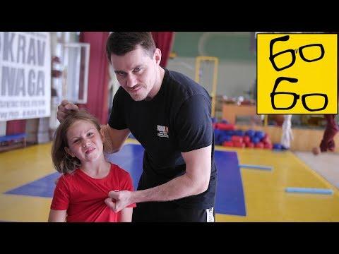 Приемы самообороны видео уроки для детей