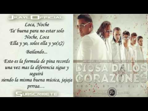 Diosa De Los Corazones ♪Letra/Lyrics♪...