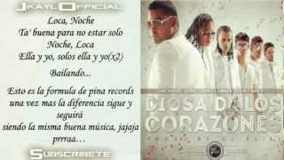 Diosa De Los Corazones ♪Letra/Lyrics♪ - Arcangel, Zion Y Lennox, RKM Y Ken-Y, Lobo (La Formula)