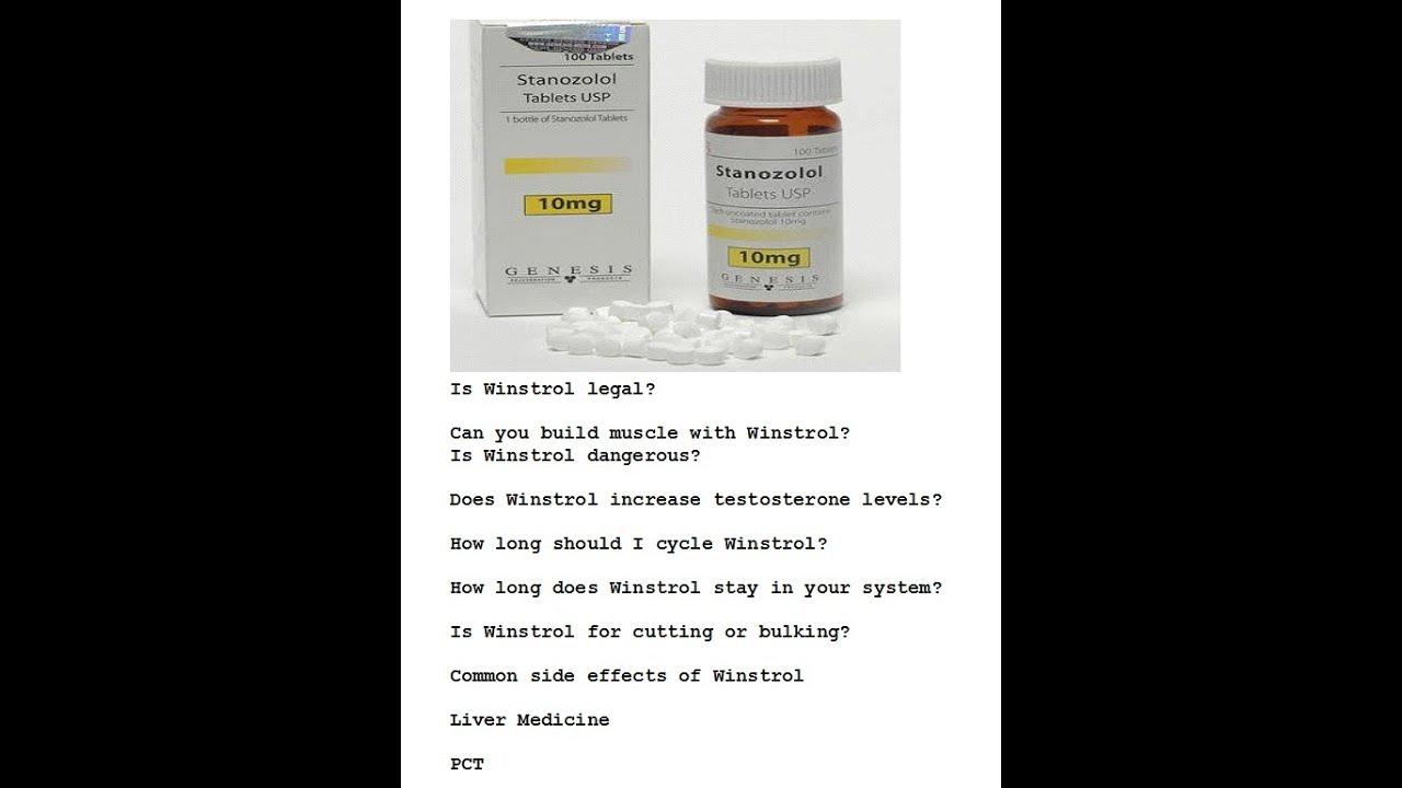kya hai Winstrol ya Stanozolol   What is Stanozolol? Dosage Side Effect  Full Information