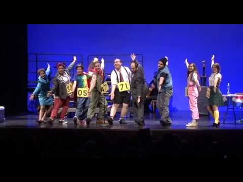 The 25th Annual Putnam County Spelling Bee- Magic Foot