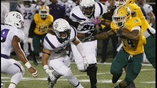 Southeastern Louisiana v. Stephen F. Austin Football Highlights 2015