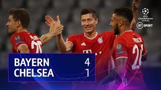 Bayern Munich vs Chelsea (4-1, 7-1 on agg) | UEFA Champions League highlights