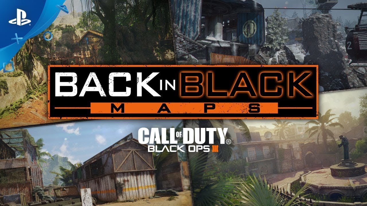 Call Of Duty Black Ops Iii E3 2018 Back In Black Maps Trailer Ps4 Youtube
