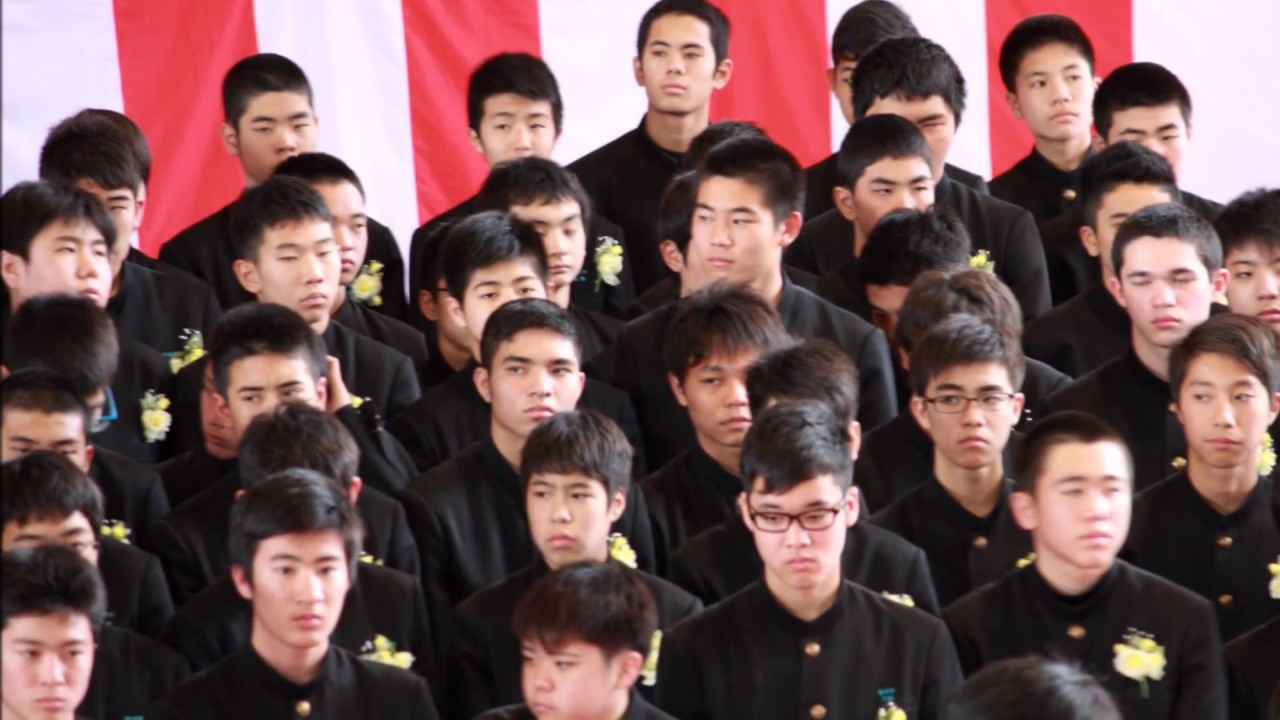 2015/03/13港川中学校卒業式【港...