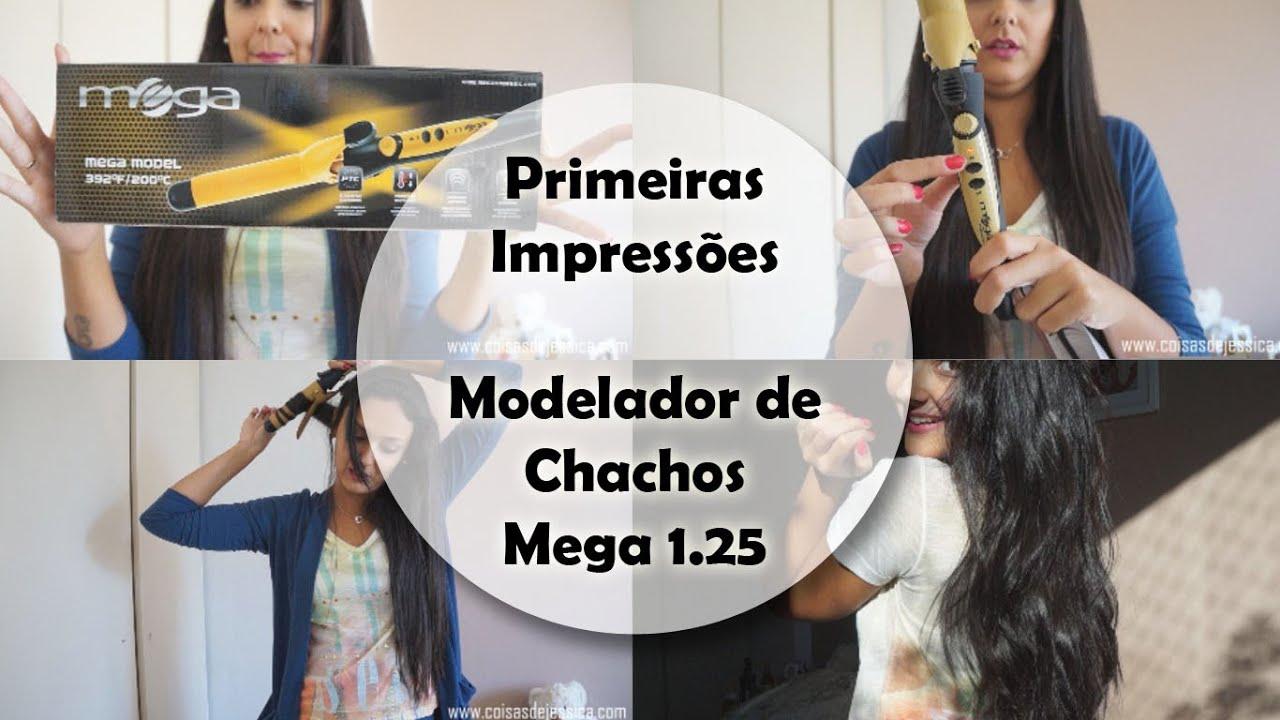 c2d6b1b67 Primeiras Impressões   Modelador de Cachos Mega 1.25 - Por Jéssica Freitas