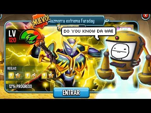 R.O.F.L CONTRA FARADAY MAZMORRA EXTREMA !! - Monster Legends