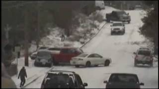 8 9 glatteis unflle ice crash winter snow rutschpartien video oeni