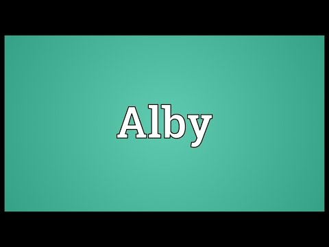 Alby Meaning