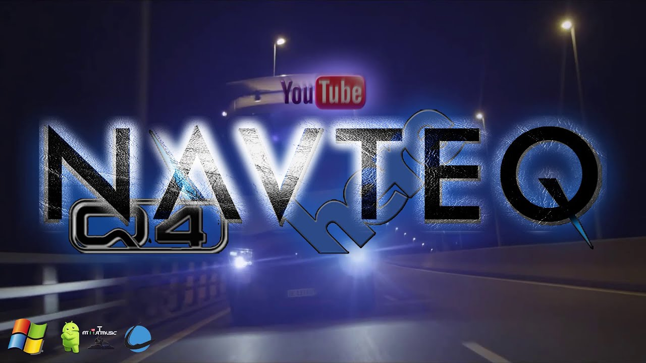Europe Truck Here Navteq Q Igo Navigationandroidwinceenlacarreterayoutube