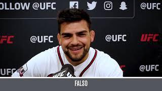Desafio UFC 237: Verdadeiro ou Falso, com Kelvin Gastelum e Poliana Botelho