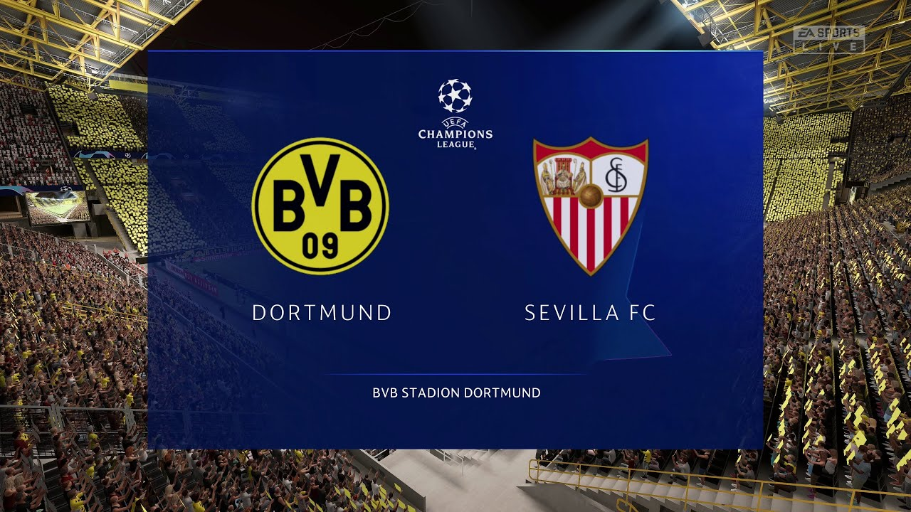 PS5 / XBSX) FIFA 21   Dortmund vs Sevilla - UEFA Champions League (Full Next-Gen 4K Gameplay) - YouTube