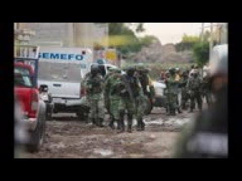 STILLS Many dead after Mexico rehab centre attack