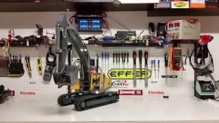 CSMI : Part 5 Ready to run Hydraulic  Radio Contol Excavator start function