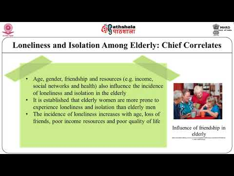 Illness Compounds Loneliness in Seniors