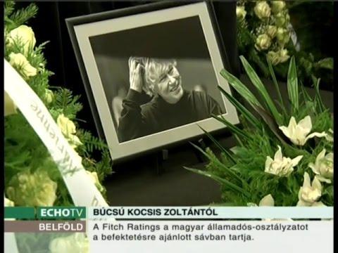 Búcsú Kocsis Zoltántól - Echo Tv