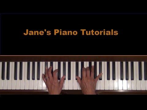 Do You Know the Way to San Jose Piano Tutorial SLOW