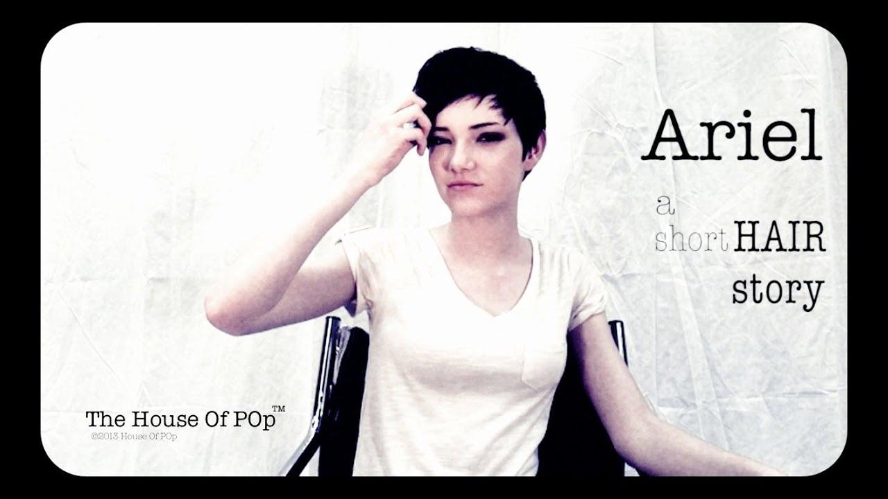 Ariel A Short Hair Story Youtube