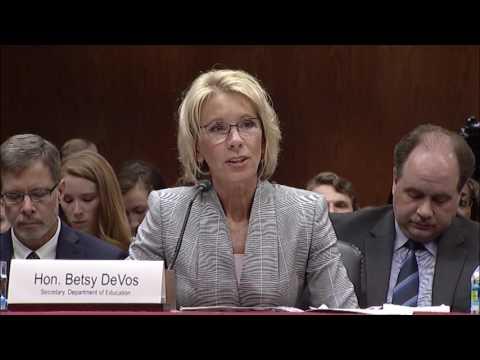 Durbin Grills DeVos About Student Debt Crisis