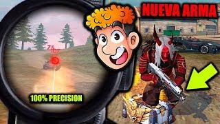 ESTO FUE LO QUE PASO CUANDO PROBE LA NUEVA ARMA DE FREE FIRE : pistola de plasma *epico* | TheDonato