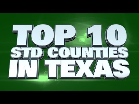 Top 10 Counties In Texas With The Most STD