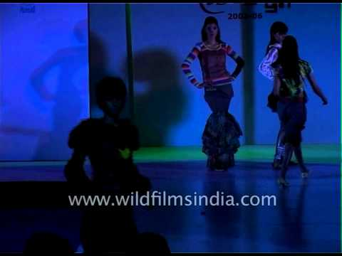 Fashion show by NIFT students in Delhi