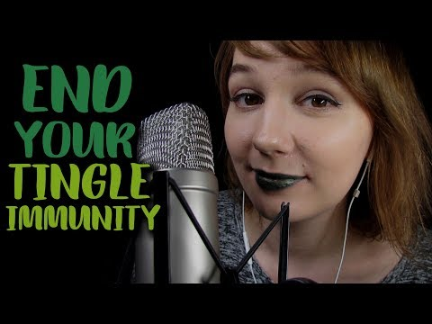 End Your ASMR Immunity | Super Tingly Unintelligible Whisper & Fast Tapping | Echo Effect