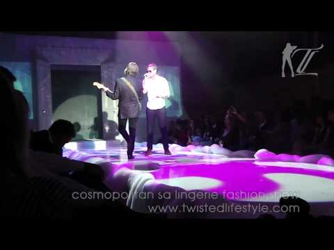 Cosmopolitan South Africa Lingerie Fashion Show Upper East Side [Arno Carstens] | Twisted Lifestyle