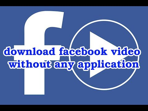 How To Download Facebook Video Without Application Malayalam Totorial