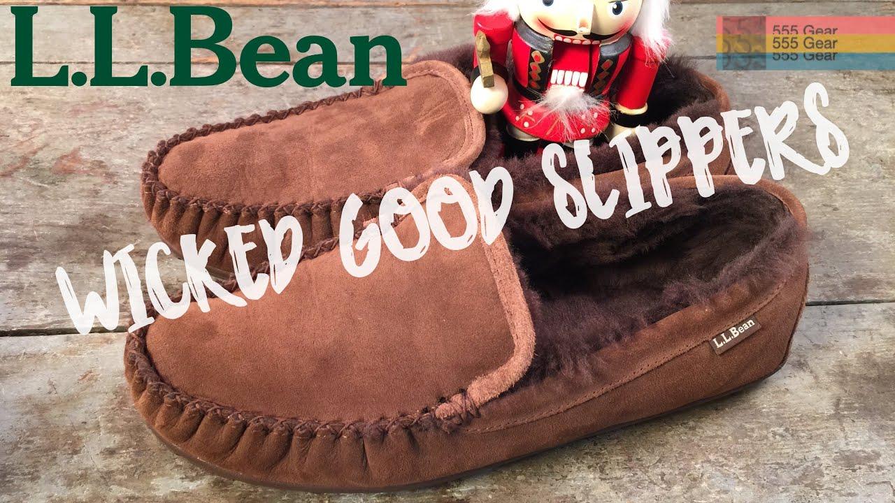 04e29a3fbd3a L.L. Bean Wicked Good Slippers