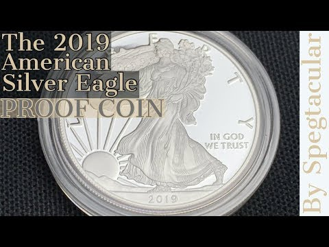 The 2019 American Silver Eagle Proof Coin.