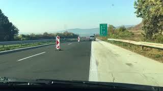 "Bulgarian roads motorway "" Hemus "" Varna - Sofia A2"