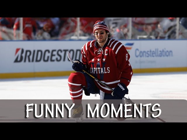 Alex Ovechkin  - Funny Moments [HD]