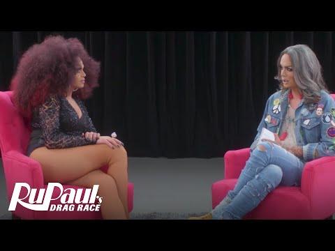 The Pit Stop w/ Raja & Mariah Balenciaga | RuPaul's Drag Race (Season 9 Ep 5) | Now on VH1