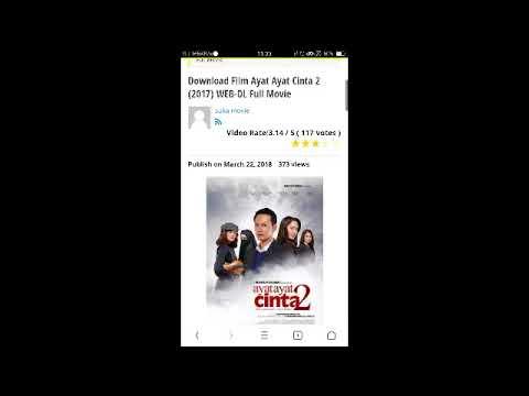 cara download film ayat-ayat cinta 2