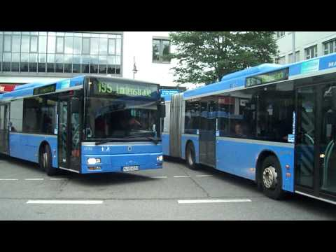 Buses in Munich, Germany - Bus in München