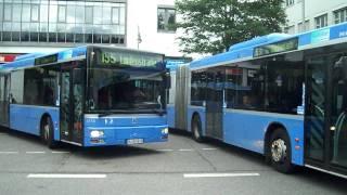 Buses in Munich, Germany - Bus in München