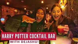 London Harry Potter Bar Experience | The Cauldron | Travel Beans & DeJaShu London Travel Vlog 2
